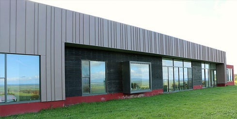 Zinc Wall Cladding